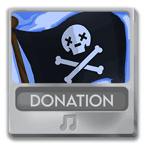 Steam Beard Pirate Donation Alerts Cover