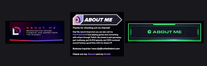 about me twitch panel cover
